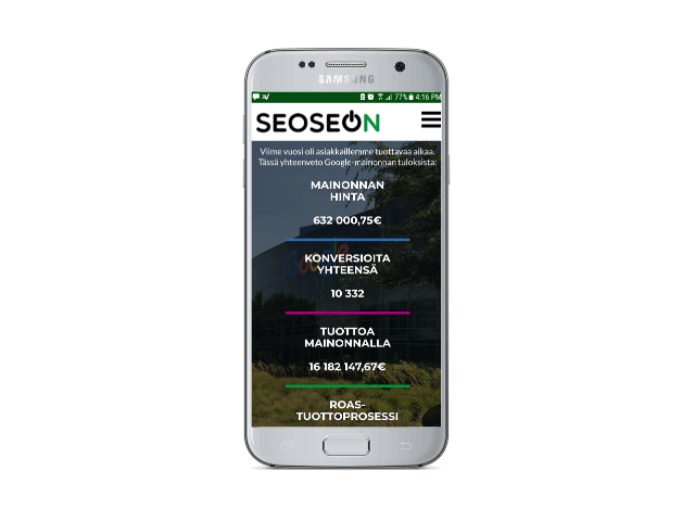 Mobile friendly and responsive