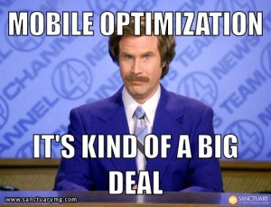 Mobile search, it's kind of a big deal